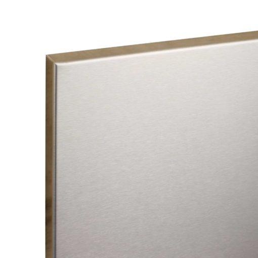 Whiteboard RVS magnetisch