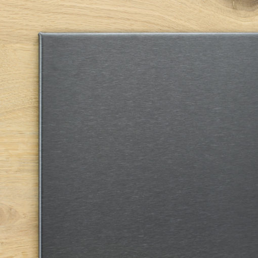 Whiteboard zwart thin